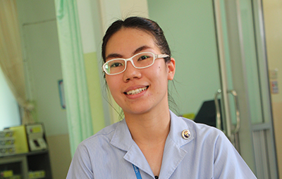Miss Ampika Pukam - Mae Hong Son Province - B.Sc in Nursing, Borom Rajchonni Nursing College, Mae Rim Campus, Chiang Mai - Nurse at Tambon Mae Lana Health Promotion Hospital