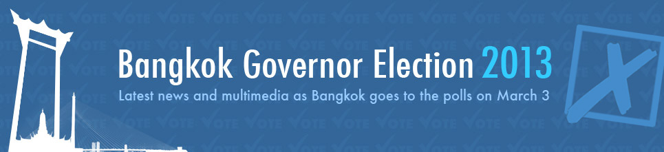 Bangkok governor election 2013