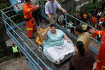 275kg woman given mercy lift from home