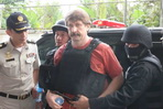 Viktor Bout arrives at court