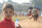 Burmese Civilians Flee Fighting