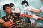 Thailand And Cambodian Clash: The Wounded
