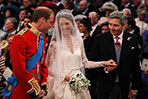 Britain's royal wedding: when they exchange their rings