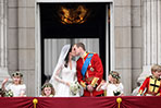 Britain's royal wedding: kiss of the century!