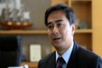 Abhisit Vejjajiva: Behind Is A Good Place To Be
