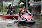 Flood Reaches Northern Bangkok