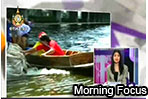 Morning Focus: His Majesty inspects flood water (15/11/2011)
