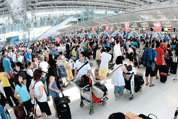 Airport Immigration Lines Growing Bangkok Post Learning