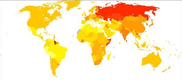 suicide map