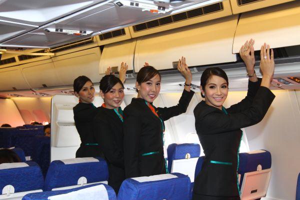ladyboy flight atendants
