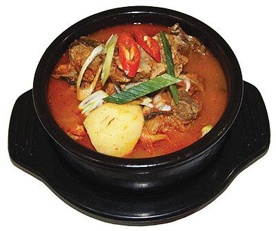 Korean fried meat
