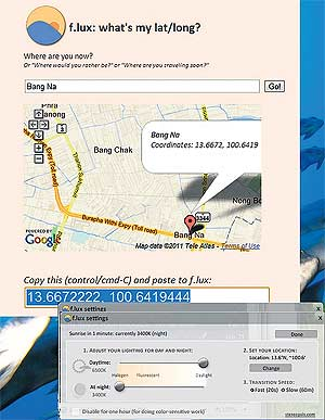 how to put a google map on your navman