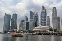 The Singapore skyline. A teenage Indonesian maid is facing a long jail ...