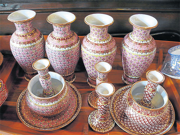 Thai Heritage Benjarong Porcelain Bangkok Post Learning