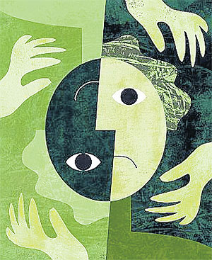 Bipolar disorder is characterised by extreme mood changes, from the heights ...
