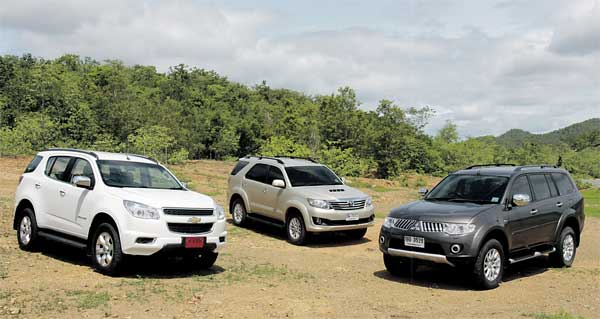 Mid-size SUV party | Bangkok Post: auto