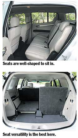 SUV with Seats That Fold Flat