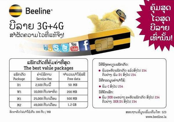 Laos To Launch 4g Bangkok Post Tech