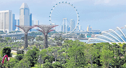 City In A Garden Bangkok Post Travel