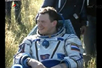 Space trio lands in Kazakhstan
