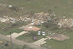 Crews assess Texas tornado damage