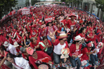 Red shirts mark third anniversary of Bangkok violence