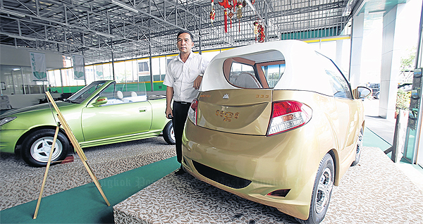 Khmerization: Cambodia gets rolling [Cambodia produced its first car]
