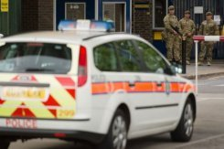 'British soldier' butchered in suspected Islamist attack