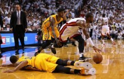 Pacers edge Heat to even series