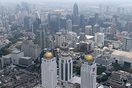 Bangkok cheapest office rent in Asia