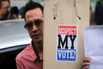 Angry would-be voters demand recourse