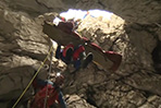 Trapped researcher rises from Germany's deepest cave