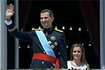Spain welcomes new king