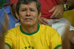 Brazilian fans dejected after World Cup semifinal loss