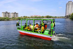 Thailand's first solar-powered boat