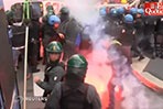 Protests in Italy over job reforms