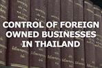 Control of foreign owned businesses