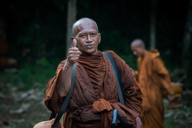 Monks in Rural Thailand
