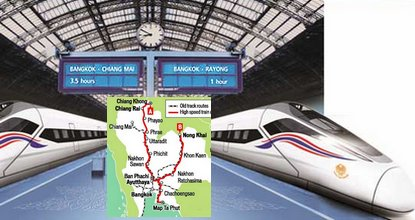 High-speed train gets go ahead
