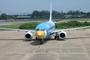 Nok Air (Bird Air) hits birds, forcing emergency landing