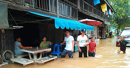 Floods in 17 provinces, six dead, one missing