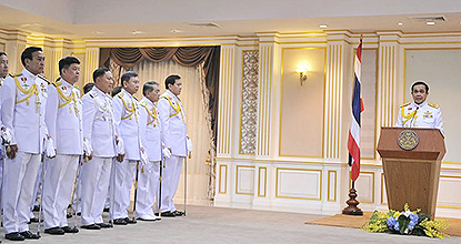Prayuth to reduce NCPO's role to security, environmental protection