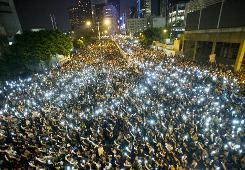 Hong Kong demos throw Beijing propaganda machine into overdrive