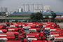 Indonesia trade balance reverses