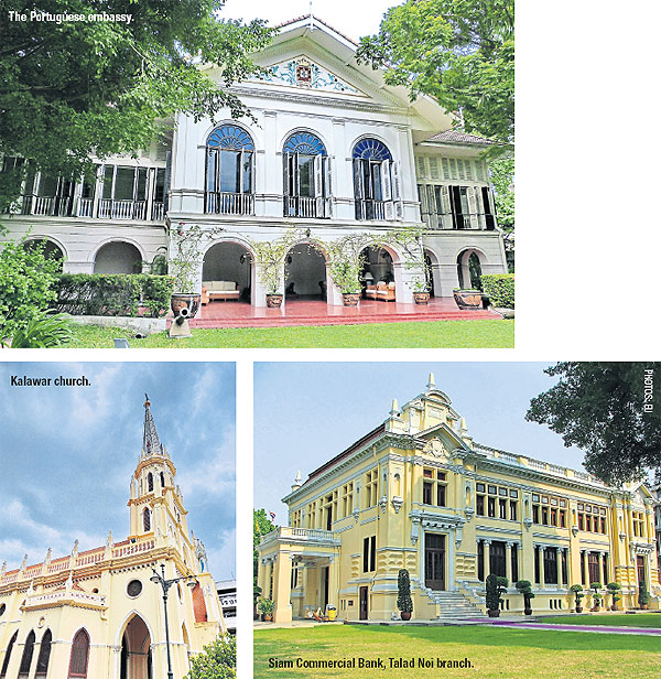The Uniqueness Of European Style Architecture In Thailand Is A Blend Thai And Different Styles Each Architectural Sites