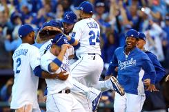 Royals complete sweep to reach baseball World Series