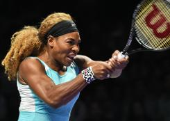 Williams blitzes Bouchard to keep Finals hopes alive