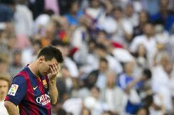 Barca beaten by Real Madrid