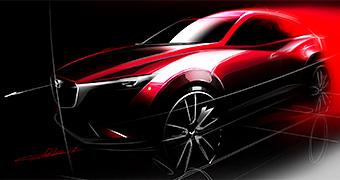 New Mazda CX-3 teased