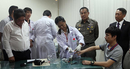 First DNA test on Koh Tao village chief's son finds no match